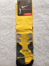 Bnip Nike 2013-15 Atletico Madrid Player Issue Away Soccer Socks Large