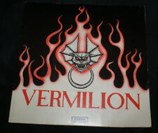 """Vermilion 7""""  1978 Angry Young Women-Illegal-ILM 0010-UK-VG/VG+ UK Import OOP"""