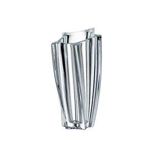 Modern Crystal Hand-Crafted Decorative Stylish 10.2 Inches Flower Vase, Yoko-B