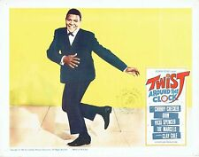TWIST AROUND THE CLOCK, 7 original 1961 Lobby Cards, CHUBBY CHECKER Rock & Roll