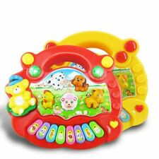 Playpen Baby® Musical Farm Animal Piano Electronic Keyboard Baby Toy