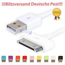 IPHONE IPOD IPAD USB 2.0 Cavo di carica sincronizzazione cavo dati bianco NUOVO