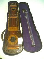 Antique Ukelin Stringed Musical Instrument 1920' Manufactures Advertising Co.