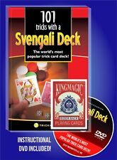 RED SVENGALI MAGIC TRICK DECK COMPLETE CARD MAGIC KIT