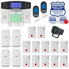 Wireless Burglar Alarm System Phone Line Auto Dialer US Home House Smart PSTN FH