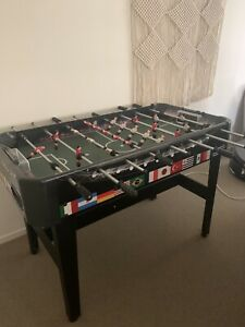 Foosball Soccer Games Table - Like new, limited use