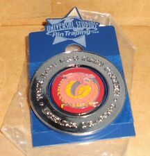 Dueling Dragons Fire or Ice Been Chosen Universal Studios Spinning Pin Trading