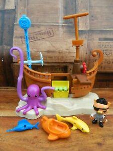 Octonauts Kwazii's Shipwreck Pirate Ship Playset - Read Desc.