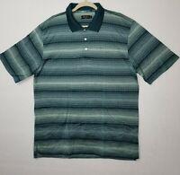 Alan Flusser Men's Golf Polo Shirt Multicolored Size L