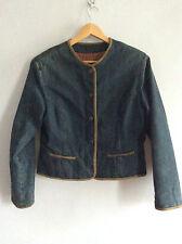 VALENTINO vintage veste en jean épaulettes Valentino denim jacket shoulder pads