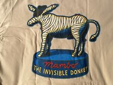 Mambo Australia Invisible Donkey T-Shirt Gr. L Vintage RARE Great Condition