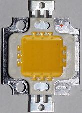 5 Stück High Power 10 W LED Chip ww, 9 - 12V, Neu, 950 Lm, COB, Aquarium, Kfz