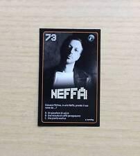 CARD ESSELUNGA - STARZONE 2011 - CARD N°73  NEFFA - STARS DELLA MUSICA