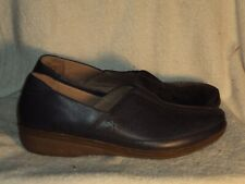 Women's Genuine Leather Shoes by Clarks Collection Cushion Soft - New-Sz 9 1/2 M