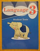 Abeka 3rd Grade Language Arts 3 Teacher Test Answer Key Third Beka Book Phonics