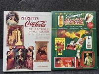 Coca-Cola Collectiblies Guide- 2 Books Petretti's 8TH  & BJ Summers 2nd