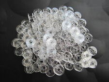 21mm x 11mm, Clear Domestic Sewing Machines Bobbins For BROTHER, TOYOTA, JANOME