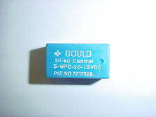 GOULD ALLIED CONTROL S-MPC-2C-12VDC DPDT 12VDC LO PRO RELAY NEW QUANTITY-1