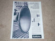 """Electro-Voice 30"""" Woofer Ad, 30w,T25a,8hd,T350, fr 1966"""