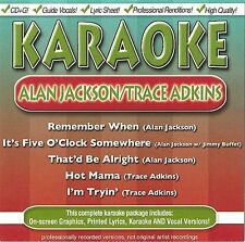 Alan Jackson & Trace Adkins by Karaoke (CD, Apr-2004, BCI Music (Brentwood