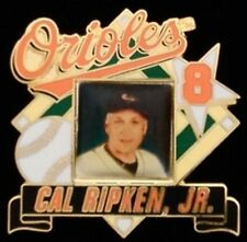 Baltimore Orioles Baseball Pin Badge ~ MLB ~ Cal Ripken Jr. ~ 8