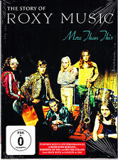 ROXY MUSIC more than this the story of roxy Digipack  DVD NEU OVP/Sealed