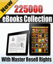 225000 PDF eBooks Package Collection With Master Resell Rights MRR PLR