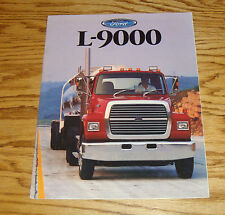 Original 1988 Ford Truck L-9000 Sales Brochure 88