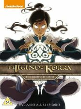 The Legend of Korra: The Complete Series (Box Set) [DVD]