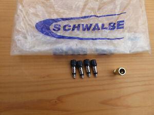 4 Stk Blitzventil + Adapter auf Autoventil | Dunlopventil | DV | Ventileinsatz
