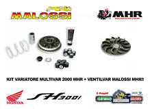 KIT VARIAZIONE COMPLETA VENTILVAR RACING MALOSSI MHR HONDA SH 300 ABS 2017/2018