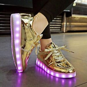 Led Sneakers Usb Charging Led Shoes Boys Girls Flashing Sneakers