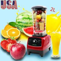 2200W 2L Blender Mixer Juicer Food Processor Ice Smoothie Bar Fruit Blender USA