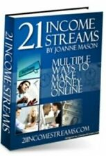 21 Income Streams eBooks (eBook-PDF file) with Master Resell Rights Great!