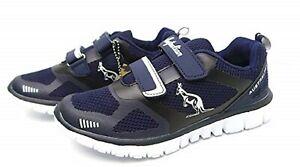 AUSTRALIAN Sneakers Ginnastica Unisex Doppio Velcro AU613V Navy, Blu, Man, Woman