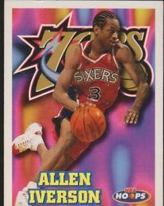 1997-98 SKYBOX NBA HOOPS # 114 ALLEN IVERSON Basketball
