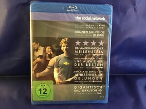 The Social Network  Blu Ray