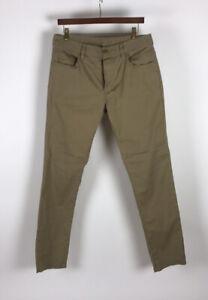 Men James Perse 5 Pocket Cotton Stretch Twill Pants Khaki Size 32