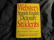 Webster's Spanish-English Dictionary for Students (2003, Paperback)