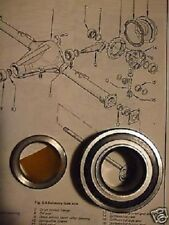 Ford Escort Mk2 (1.1,1.3,1.6,RS & México) Rear hub cojinete de rueda (1975 - 80)