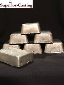 10lbs Clean soft Lead Ingots. Casting weights sinkers pipe