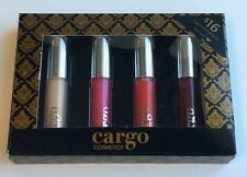 Cargo ~ Let's Meet In Paris Lip Gloss Set Of 4  0.054 fl. oz. ea.  NIB!