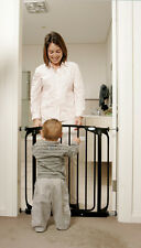 NEW DREAMBABY CHELSEA SECURITY GATE STANDARD BLACK CHILD SAFETY AUTO CLOSE