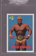 1990 CLASSIC WWF WRESTLING CARD # 1  HULK HOGAN