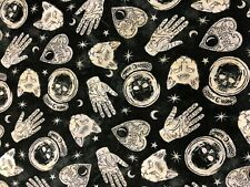 Halloween Fortune Teller Palm Reader Crystal Ball Ouija Planchette Fabric BTHY