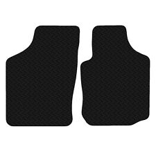 Vauxhall Combo C 2001 - 2006 Black Floor Rubber Tailored Car Mat 3mm 2pc Set