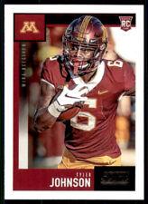 Tyler Johnson 2020 Score Football Rookie Card #440, Minnesota Golden Gophers