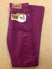 men's LEE W30 L34.5 Superslim Burgundy Red Jeans. New