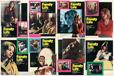 FAMILY LIFE SET FOTOBUSTE 8 PZ. CINEMA FILM SEXY KENNETH LOACH 1971 LOBBY CARD