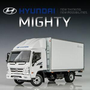 HYUNDAI MIGHTY 1:32 CARGO BOX VAN DELIVERY TRUCK DIE-CAST MODEL CAR